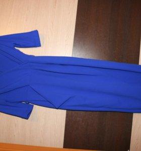 Новое синее платье для беременных