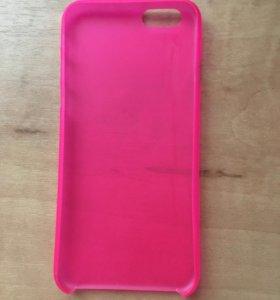 Розовый чехол на iPhone 6/6s