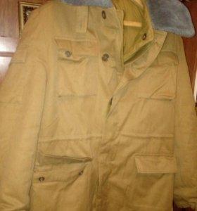 Куртка - бушлат,зимняя