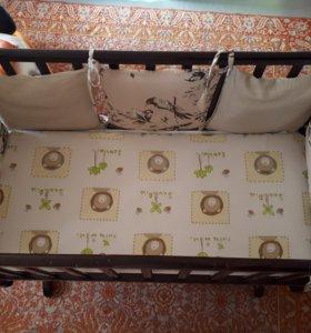 Кровать ГандылянЛили с матрасиком