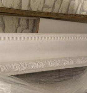 Молдинг Decor-Dizayn 60х20х2400мм полиуретан белый