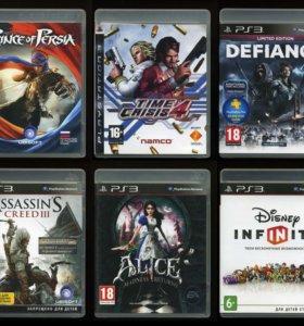15 дисков, игры для Sony PlayStation 3