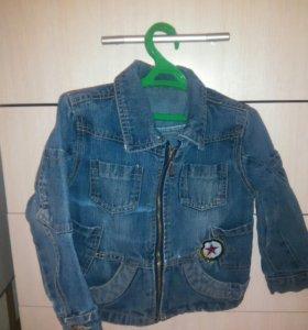 рр98-104см.куртка