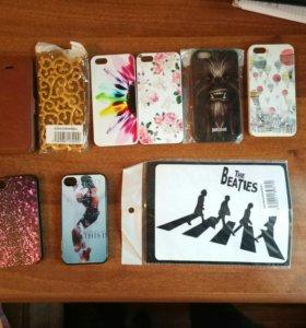Чехлы для Iphone 4/4s, Iphone 5/5s, Ipad