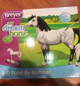 Набор для творчества «Раскрась пони по шаблонам»