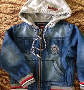 Джинсовая куртка 92 размера