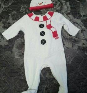 Новогодний костюм для малыша mothercare