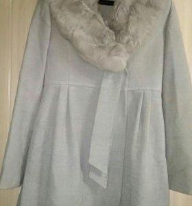 Пальто драповое демисезон р.42 (48)