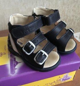 Детские ортопедические сандалии Тотто