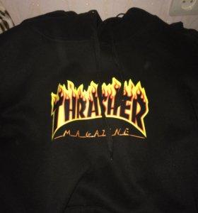 Одежда кофта с капюшоном thrasher