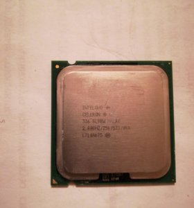 Процессор Intel celeron