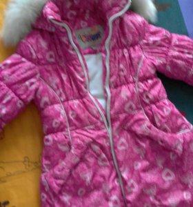 Куртка зимняя Батик для девочки