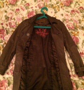 Куртка натуральная кожа утеплённая