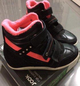 Ботинки для девочки р.34