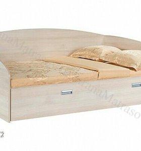 Кровать этюд софа с выдвижным ящиком ОРМАТЕК