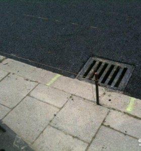 асфальтирование .укладка тротуарной плитки.
