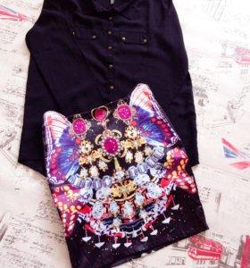 Рубашка, юбка