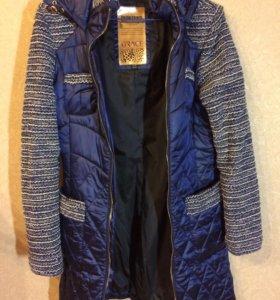 Пальто стеганое женское, размер s-m