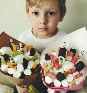 Детский букет,букет из зефира,подарок