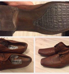 Туфли кожаные мужские Bata 46-47