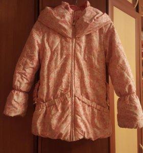 Детская зимняя куртка для девочек 10-11 лет