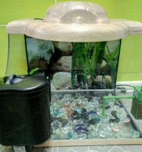 Аквариум для черепах(мелких рыбок)50л.