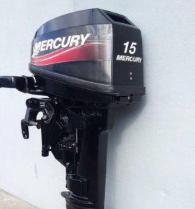 Лодочный мотор Mercury 15 л.с 2-х тактный
