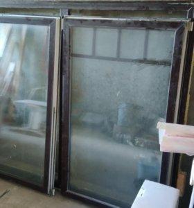 Окно двухкамерный стеклопакет.