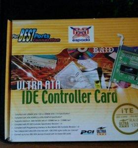 Контроллер PCI на 2 порта IDE