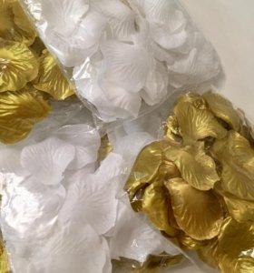 Лепестки роз ( искусственные ) . Свадьба.
