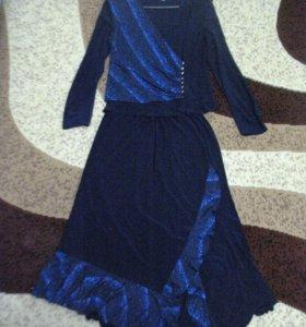 Женский трикотажный костюм