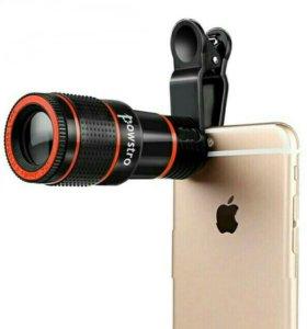 Оптический телескоп-объектив для камеры
