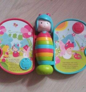 Игрушка Бабочка, поёт детские песни.