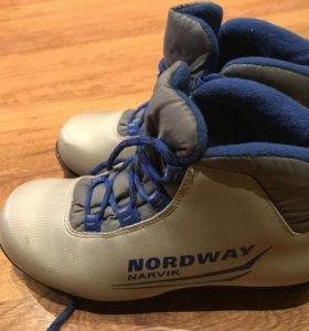 Беговые лыжные ботинки NORDWAY Narvik р.35