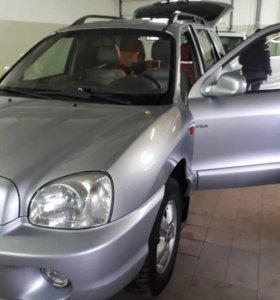 Hyundai Santa Fe 2008 г.