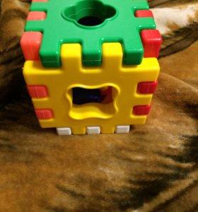 Сортер кубик