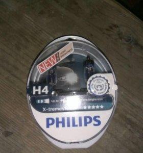 Лампа галогенная Philips H4 X-treme Vision +130