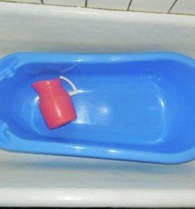 Детская ванночка. Кувшин в подарок