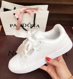 Женские белые кеды Puma, кроссовки, новинка