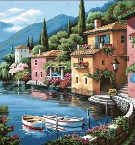 Картины по номерам фирмы Paintboy raduga