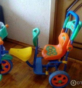 Велосипед для погодок/двойни