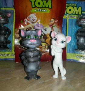 Фигурка кот Том и Анжела Новые