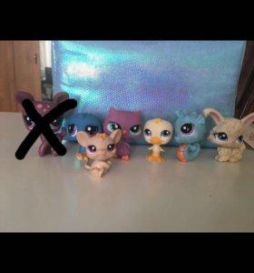 LPS littlest pet shop 🐶🐱🐭🐹+ ластики в подарок)