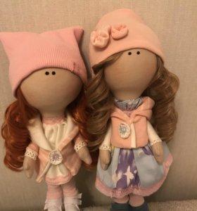 Куколки подружки ручной работы