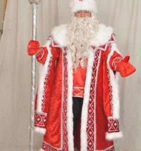 Костюм Деда Мороза расшитый