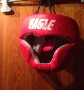 Шлем кожаный