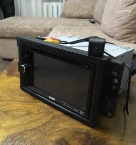 Мультимедийная система Sony с камерой заднего вида