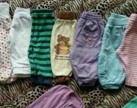 Пакет штанишек, ползунков для девочки