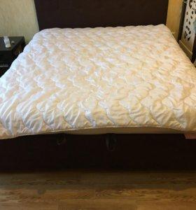 Одеяло Евро,эвкалиптовый наполнитель, зимнее