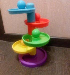 Игрушка Горка-спираль